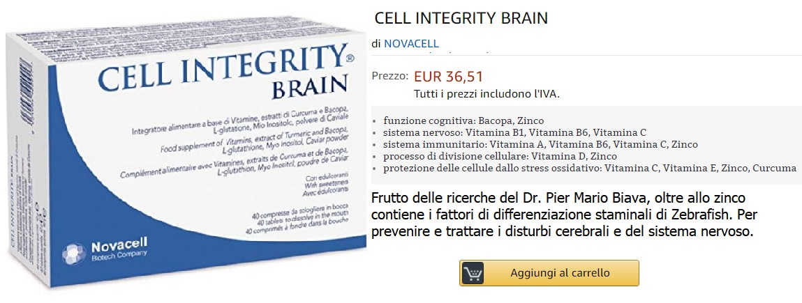 cell integrity brain zinco acquista
